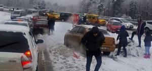 Zonguldak-Ereğli yolunda ulaşım durma noktasına geldi