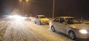 Çorum-Ankara karayolunda ulaşımda güçlük yaşanıyor