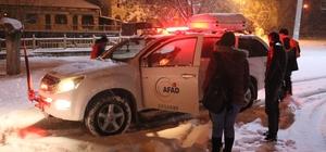 Önce kaybolan, sonra da mahsur kalan öğrencileri AFAD kurtardı Aksaray'da doğa gezisine çıktıktan bir süre sonra yollarını kaybeden ve daha sonra bir beldeye ulaşan 2 üniversiteli kız öğrenci, AFAD tarafından kurtarılarak kaldıkları yurda götürüldü