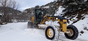 Amasya'da 153 köy yolu kapalı