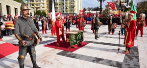 Osmaniye'de kurtuluş coşkusu Kentin düşman işgalinden kurtuluşunun 97'nci yılı törenle kutlandı