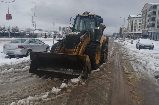 Bingöl'de karla mücadele çalışması