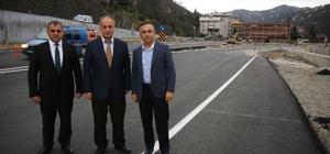 """Rize Valisi Kemal Çeber: """"Salarha Tüneli Ciddi Bir Mühendislik Eseri"""""""