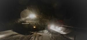Tokat'ta kar yağışı ile tipi etkili oldu