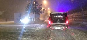 Bingöl- Elazığ yolu kar ve tipi nedeniyle ulaşıma kapatıldı