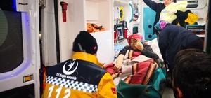 Kardan yolları kapanan köyde kar paletli ambulansta doğum Aksaray'da yolları kapalı köyde doğum sancısı başlayan hamile kadının imdadına kar paletli ambulans ve UMKE ekipleri yetişti