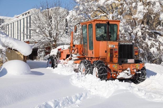 Bingöl'de 80 köy yolu ulaşıma açıldı