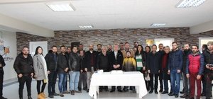 10 Ocak Çalışan Gazeteciler Günü Başkan Şahiner, 10 Ocak Çalışan Gazeteciler Gününü Kutladı