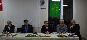 Biga'da 'Kafkas Kültür Dernekleri arasındaki ilişkiler nasıl olmalı ve çözüm önerileri' konulu panel