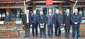 Başkan Özkan gazetecilerle buluştu