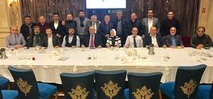 İstanbul Erzurum Dernekler Federasyonu görev dağılımı yapıldı Süleyman Ulusoy federasyonun yeni genel başkanı oldu