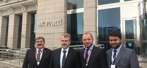 İl Başkanı Karabıyık, Bakan Yardımcısı Eldemir ile buluştu