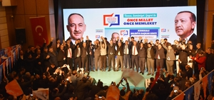 AK Parti'nin Kırıkkale belediye başkan adayları tanıtıldı