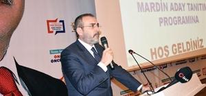 AK Parti Genel Başkan Yardımcısı Mahir Ünal Mardin adaylarını tanıttı