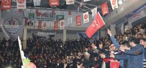 Tokat'ta MHP belediye başkan adayları tanıtıldı