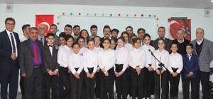 Fatih Ortaokulu öğrencilerinden müzik şöleni