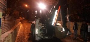 Sason belediyesinden kar temizleme çalışmaları