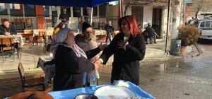 Başkan Çerçioğlu'ndan Çakırbeyli Pazarı'na sabah ziyareti