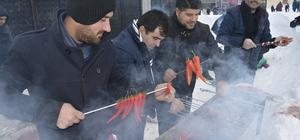 Karacadağ'da hafta sonu yoğunluğu