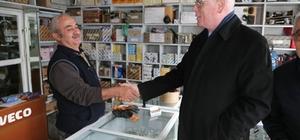Kazım Kurt küçük sanayi esnafını ziyaret etti