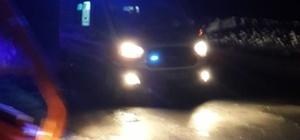 AFAD ekipleri amfibik araçla hasta çocuğu kurtardı