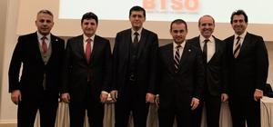 BTSO Tahkim ve Arabuluculuk Merkezi Türkiye'ye örnek oldu Bursa Ticaret ve Sanayi Odasında ticari uyuşmazlıkların çözümünde zorunlu hale getirilen arabuluculuk ele alındı