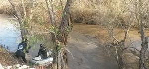 Büyük Menderes Nehri'ne düşen şahsı arama çalışmaları devam ediyor