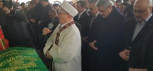 Başkan Alıcık'ın kayınpederi toprağa verildi