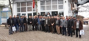 Başkan Kayda'dan 4 mahalle ziyareti
