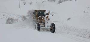 Bingöl'de 39 köy yolu kar nedeniyle kapandı