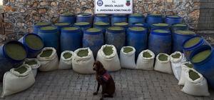 Bingöl'de 1 yılda uyuşturucuya darbe vuruldu Kentte jandarma ekiplerinin yaptığı çalışmada 3 ton 400 kilogram esrar, 260 bin kök hint keneviri ele geçirilirken, 35 şüpheli de tutuklandı