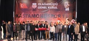 Kastamonuspor 1966 Olağan Genel Kurulu gerçekleştirildi Kastamonuspor'un yeni başkanı Erkan Ahmet Özcan oldu