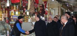Başkan Altay, Kadınlar Pazarında esnafla buluştu