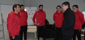 Başkan Türel, Antalyaspor'u ziyaret etti