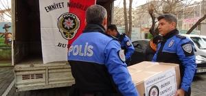 Yüksekovalı öğrencilerin karne hediyesi Bursa polisinden Bursa emniyetinden Yüksekova'ya gönül köprüsü