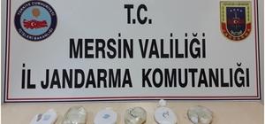 Ekmek arası uyuşturucu Mersin'de jandarma ekiplerince gerçekleştirilen operasyonda, tantuni yapımında kullanılan lavaş ekmeklerin arasına gizlenmiş halde 1 kilo 220 gram toz esrar ele geçirildi