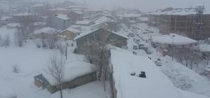 Bingöl'de kar yeniden etkisini göstermeye başladı 16 gün sonra ders başı yapılan Karlıova ilçesinde kar yağışı nedeniyle eğitime yarın için ara verildi