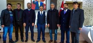 MHP ilçe yönetiminden Başkan Cabbar'a 'Hayırlı olsun' ziyareti