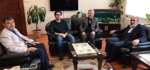 İslami Bilimler Fakültesinden Kaymakam Duru'ya ziyaret