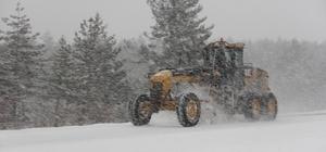 Ilgaz Dağı Milli Parkında kar kalınlığı 154 santimetreye ulaştı