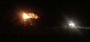 Kastamonu'da bir evde yangın çıktı ev sahibi yaşlı kadına henüz ulaşılamadı