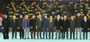 Samsun'da Cumhurbaşkanı hazırlığı Mustafa Demir, hazırlıkları yerinde inceledi