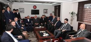 Başkan Çolakbayrakdar Saadet Partisi'ni ziyaret etti
