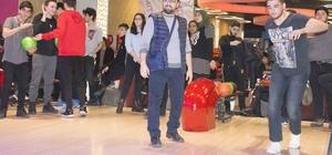 Yarıyıl tatiline bowling turnuvasıyla başladılar