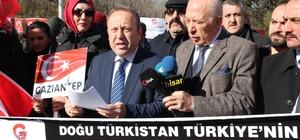 Gaziantep Dernekler Konfederasyonundan Doğu Türkistan Tepkisi