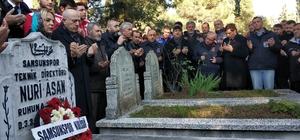 Samsunspor, 30 yıl önceki kazada ölen teknik adam ve futbolcuları andı
