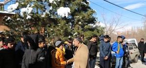 Başkan Cabbar Ve İlçe Teşkilatı Ali Doğu'nun Mevlid Yemeğine Katıldı