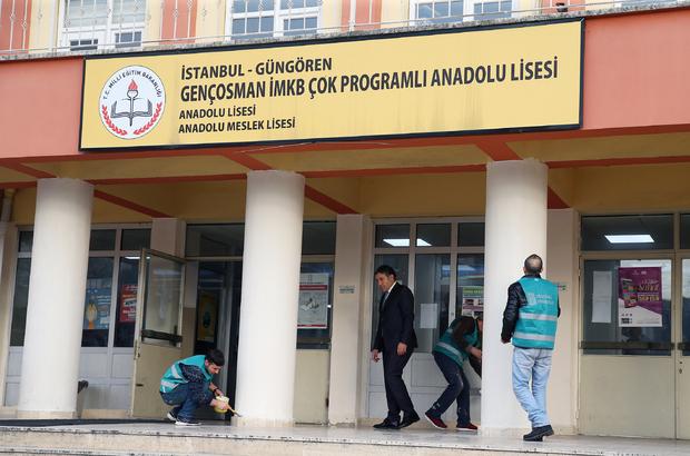 Yükümlüler İstanbul'da 43 okulu yenileyecek