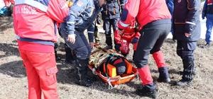 Eskişehir AFAD'dan başarılı kış tatbikatı Senaryo gereği kar ve tipide mahsur kalan kardeşler kurtarıldı Tatbikata 16 araçla 82 personel katıldı