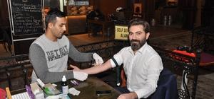 İMO Eskişehir'den Kızılay'a kök hücre için kan bağışı